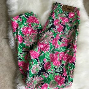 Lilly Pulitzer colorful cotton pants